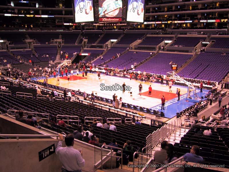 Staples Center Section Pr3 Staples Center Section Pr3