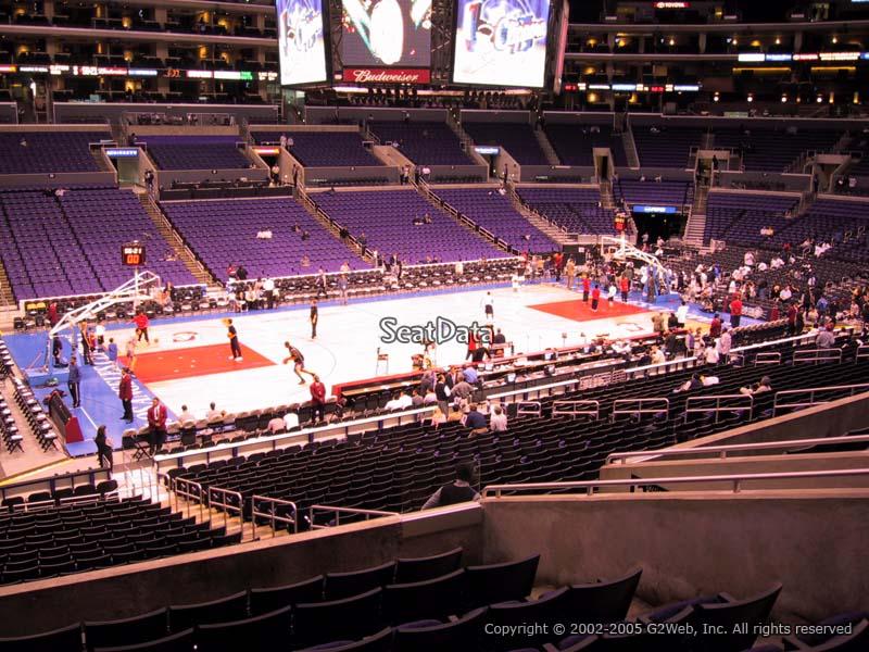 Premier Corner - Staples Center Basketball Seating ...