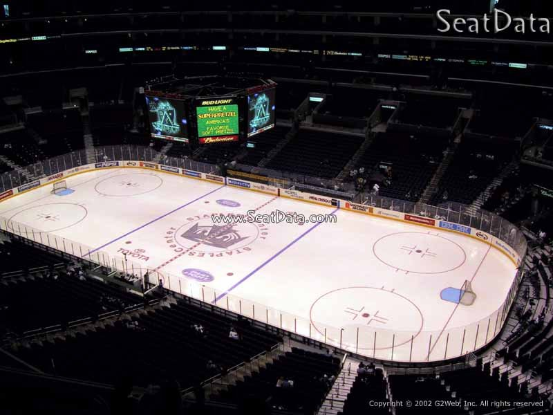 Staples Center Section 315 View