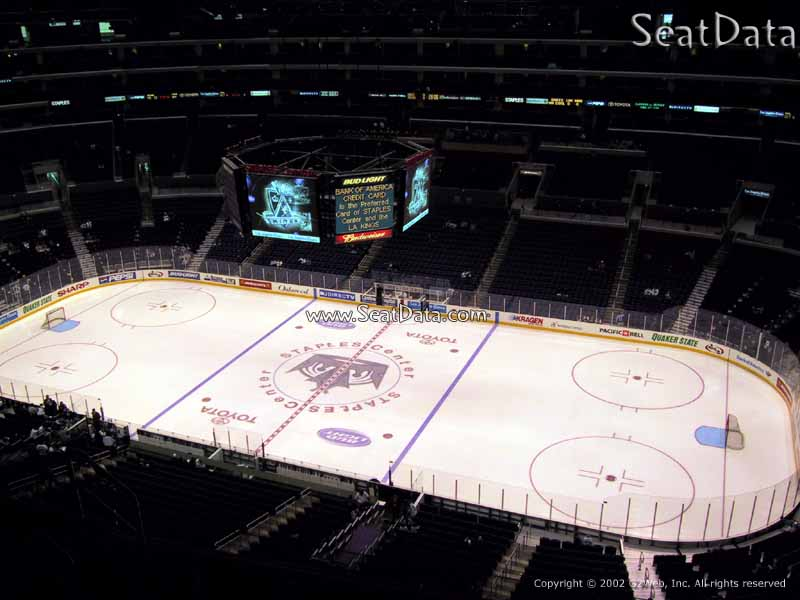 Staples Center Section 333 - Los Angeles Kings ...