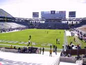 Seat View for Sun Devil Stadium Section 16