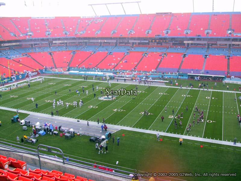 Hard Rock Stadium Section 315 Miami Dolphins Rateyourseatscom