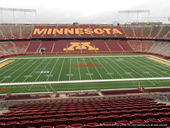 Seat View for TCF Bank Stadium Section 241