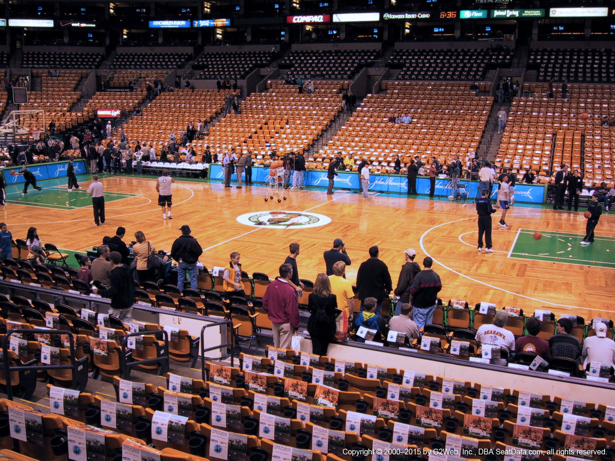 Td Garden Loge 11 Boston Celtics