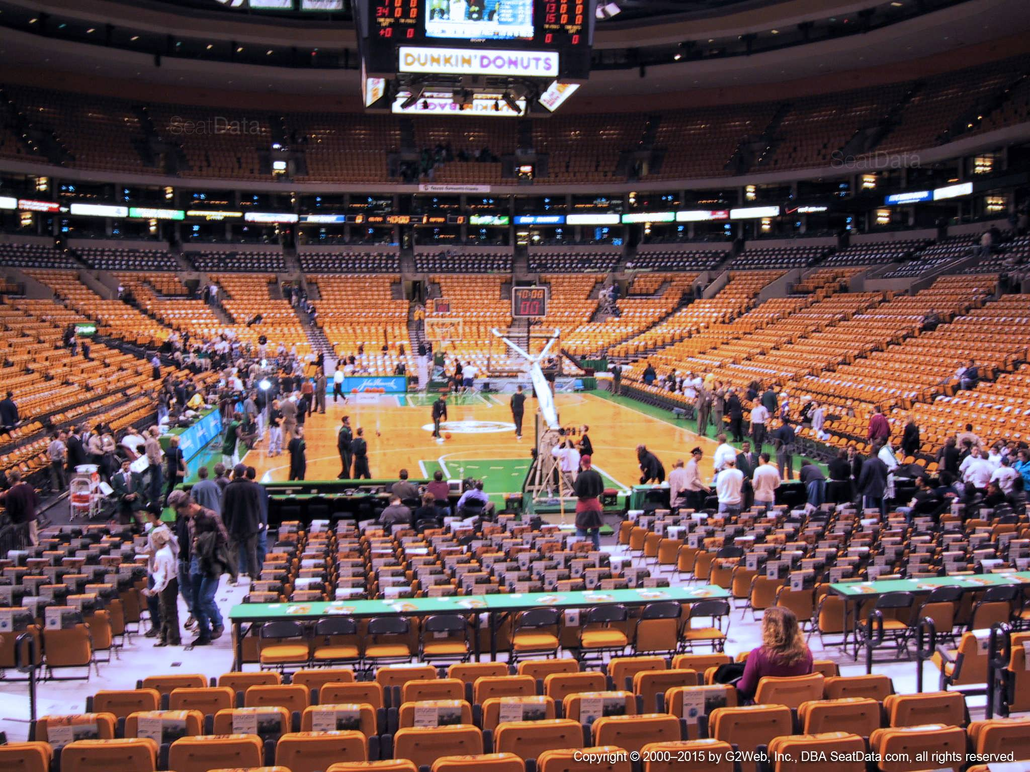 Garden Loge Boston Celtics Rateyourseats