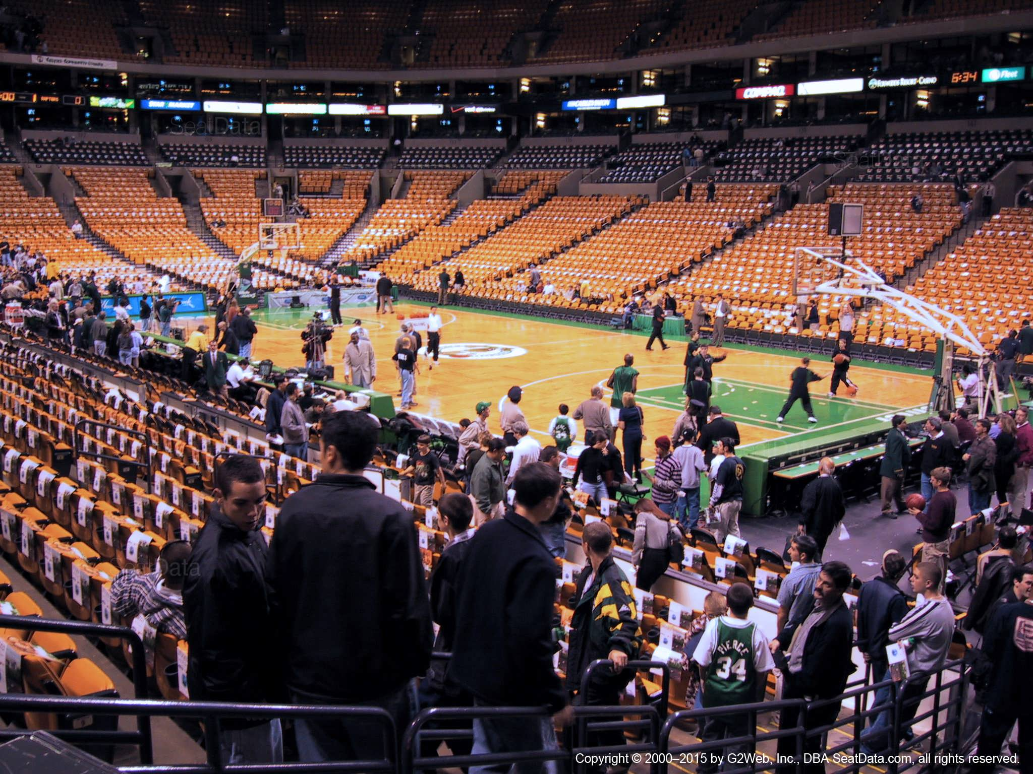 Td Garden Loge 20 Boston Celtics Rateyourseats Com