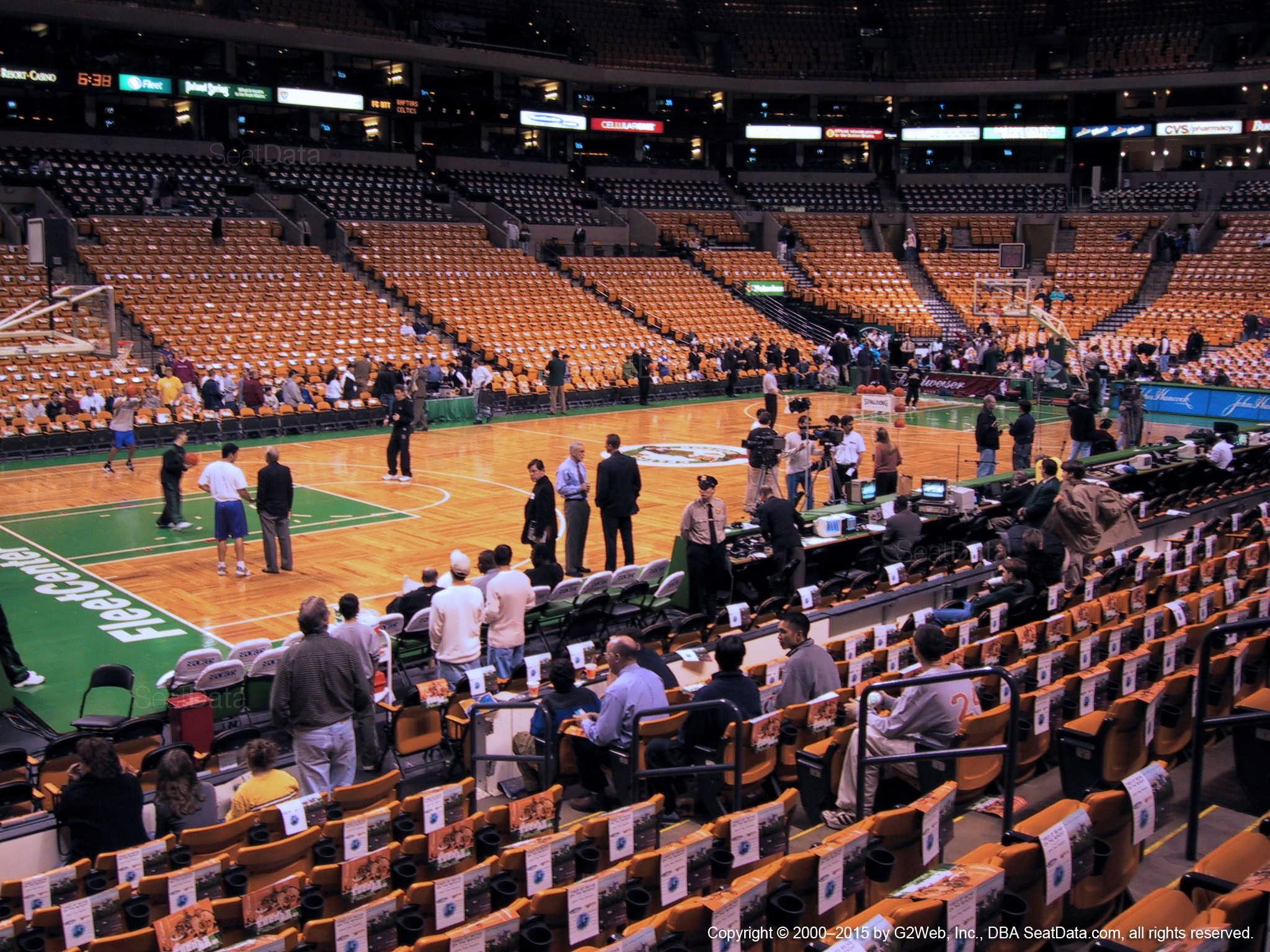 Td Garden Loge 3 Boston Celtics