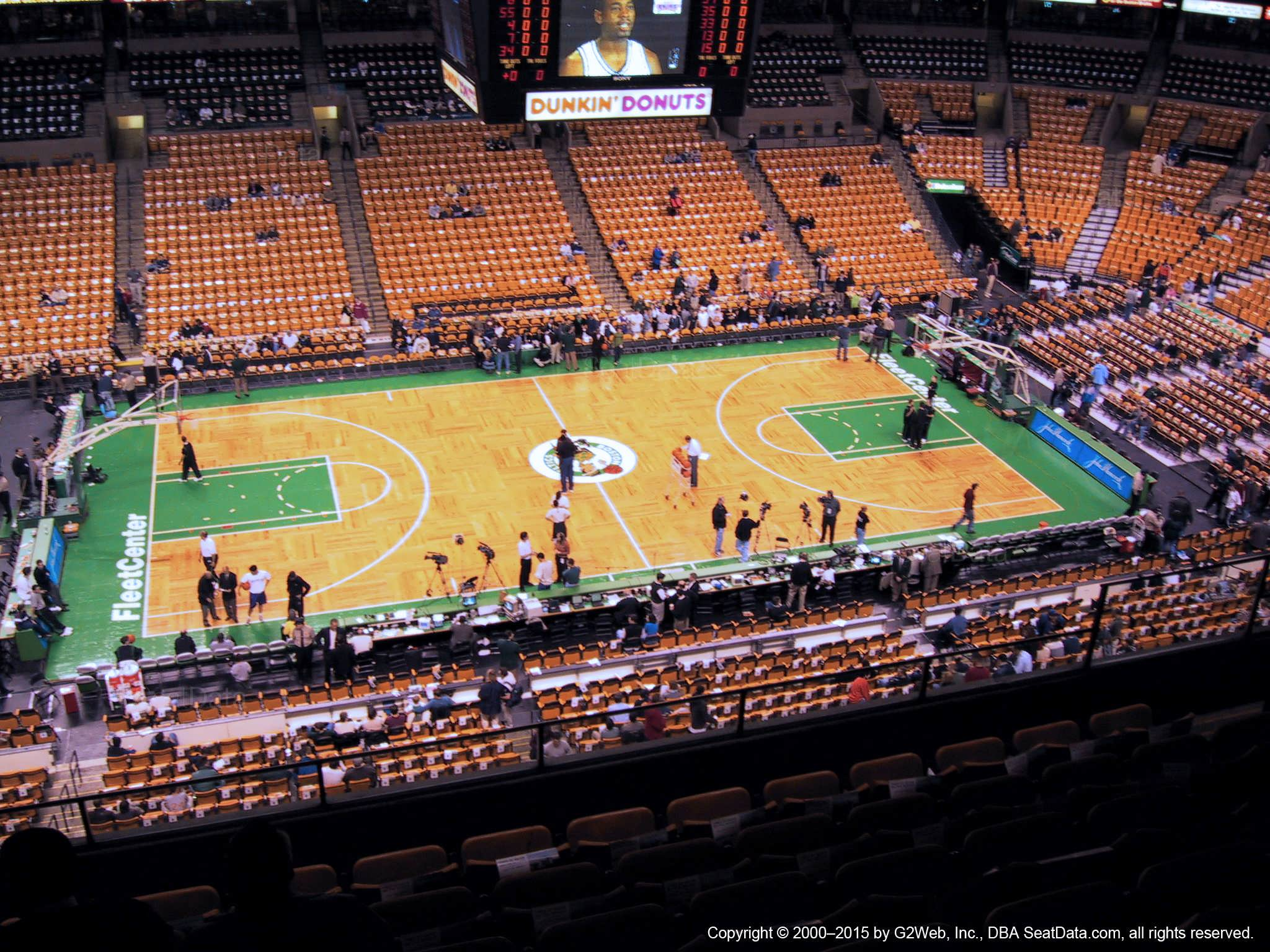 Td Garden Section 302 Boston Celtics