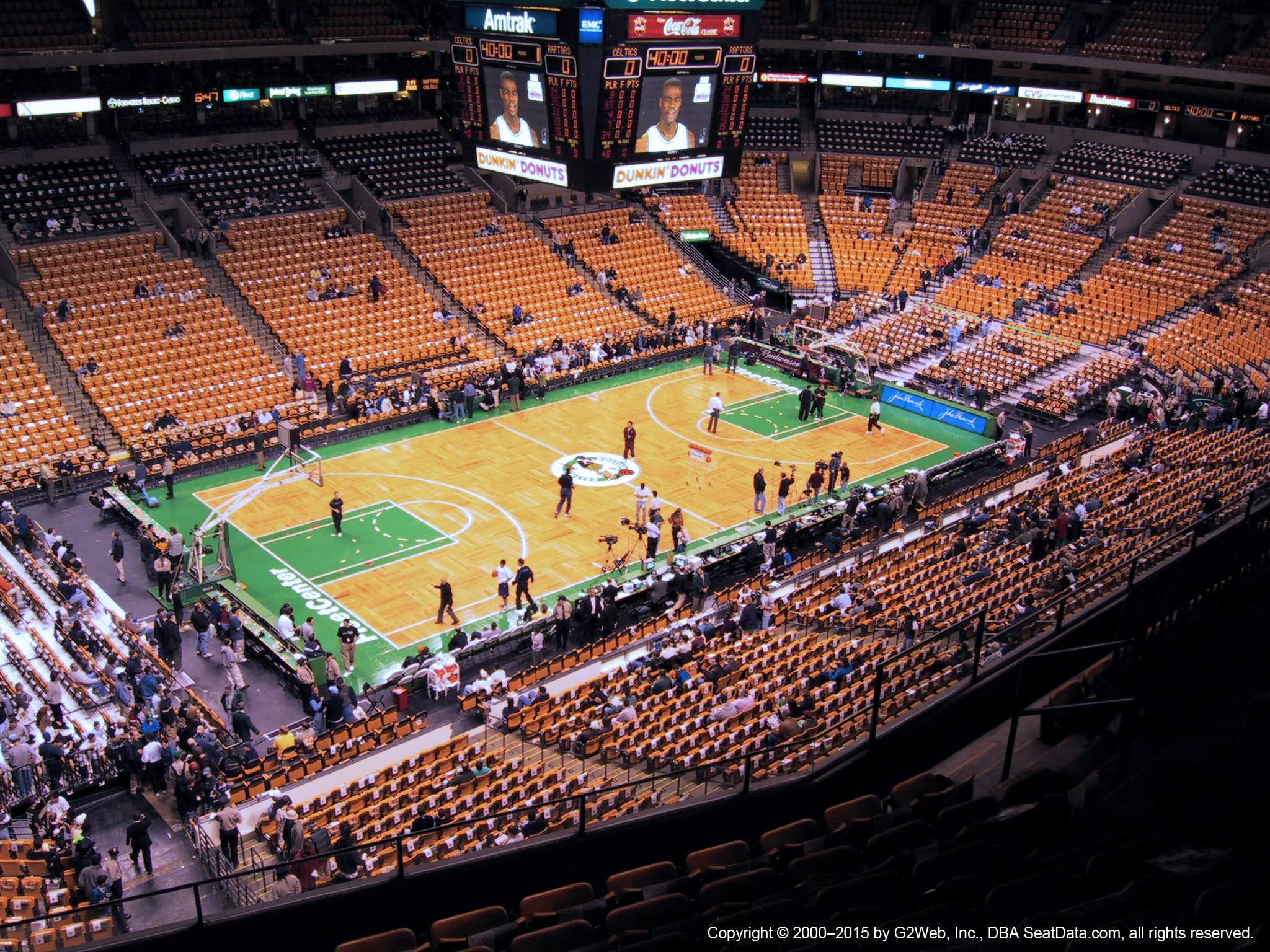 Td Garden Section 304 Boston Celtics