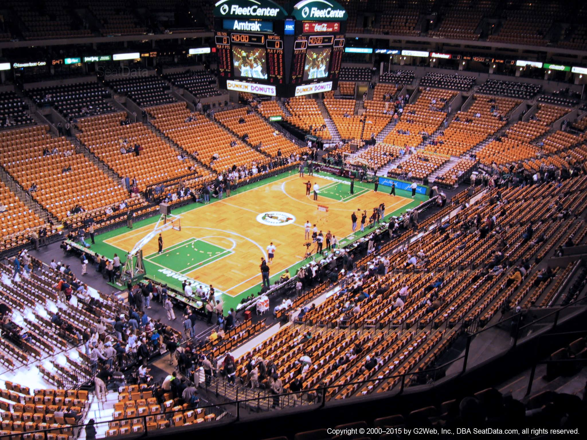 Td Garden Section 305 Boston Celtics