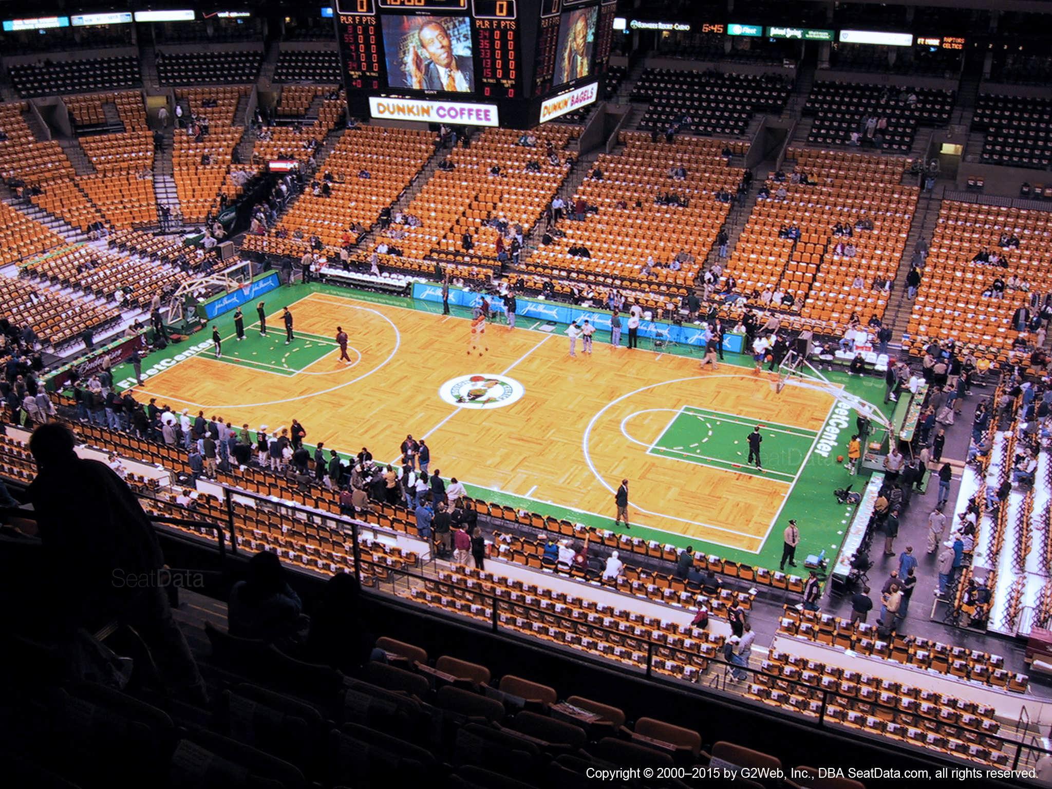 Td Garden Section 314 Boston Celtics