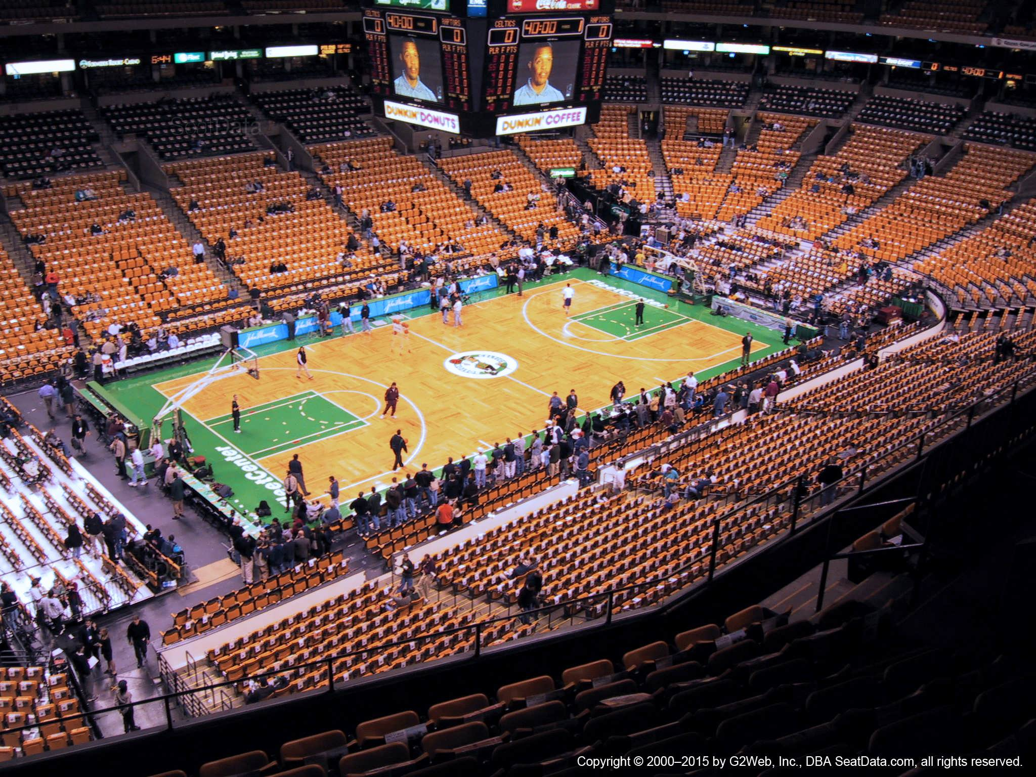 Td Garden Section 319 Boston Celtics
