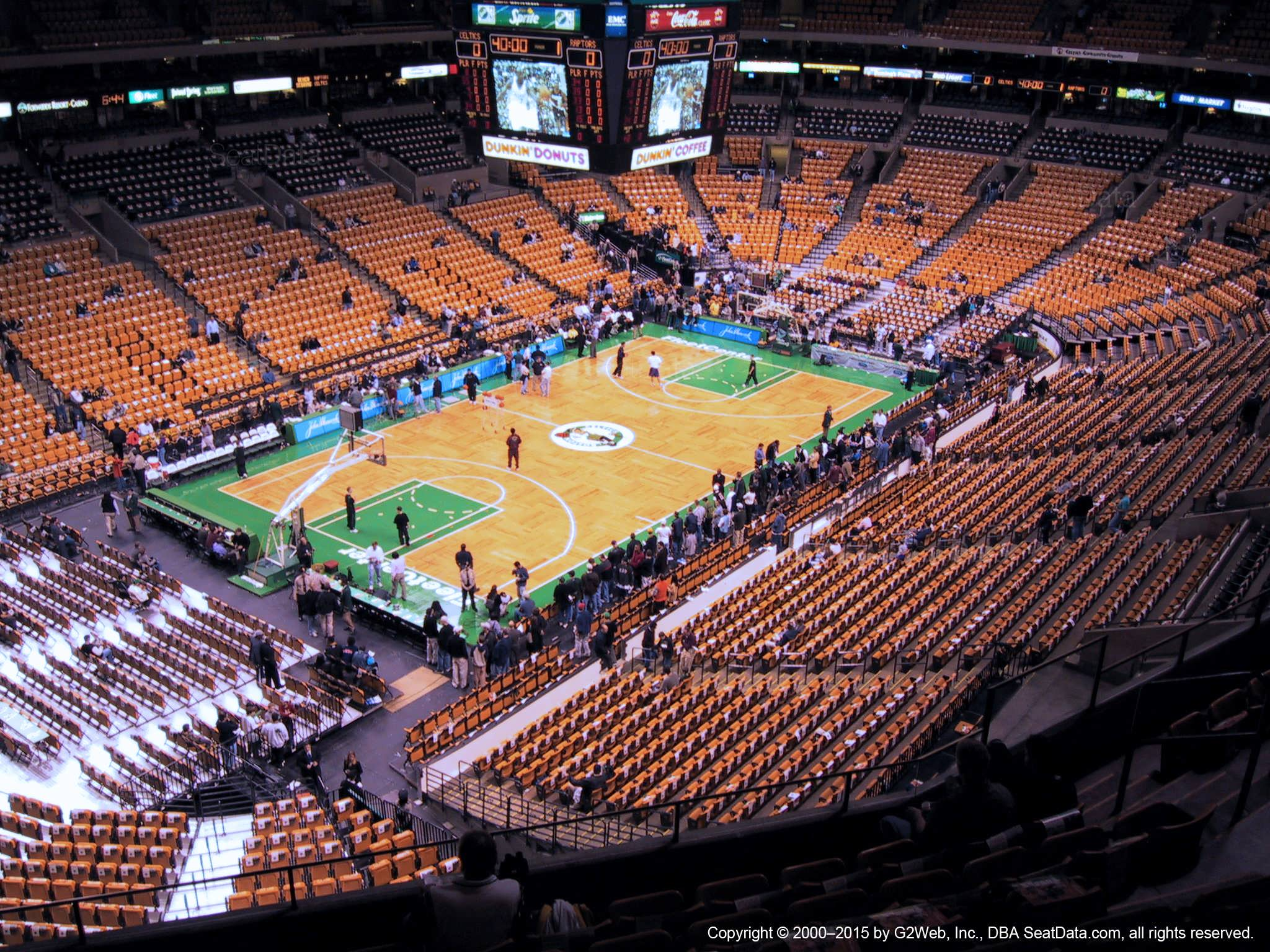 Td Garden Section 320 Boston Celtics