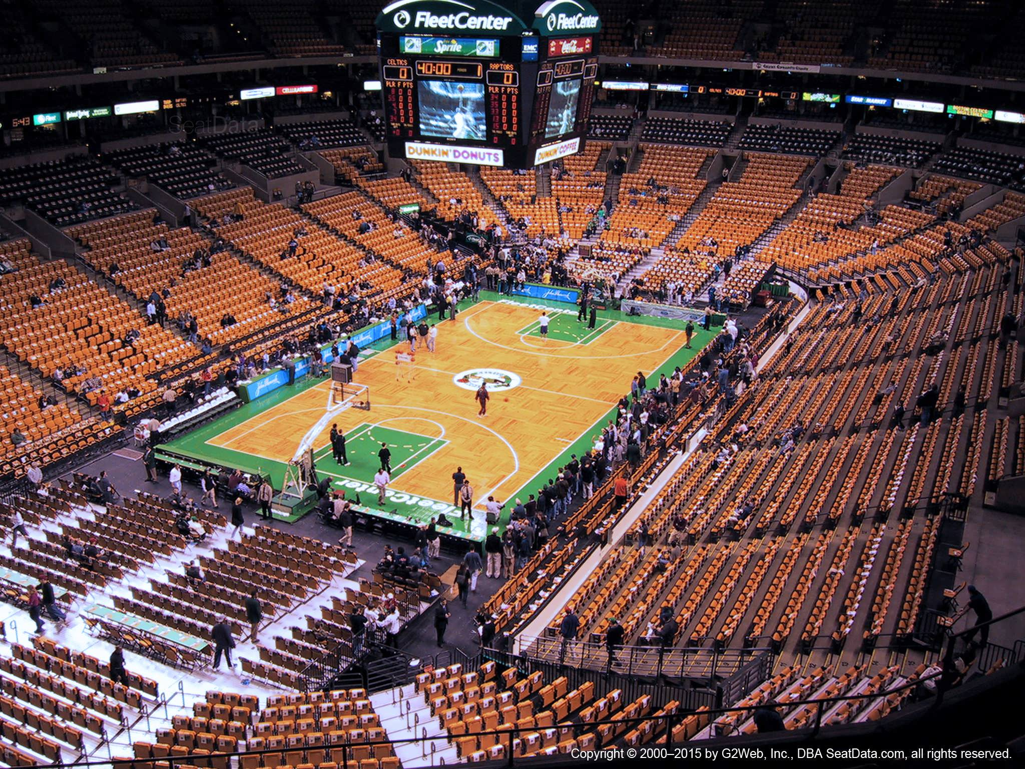Td Garden Section 321 Boston Celtics
