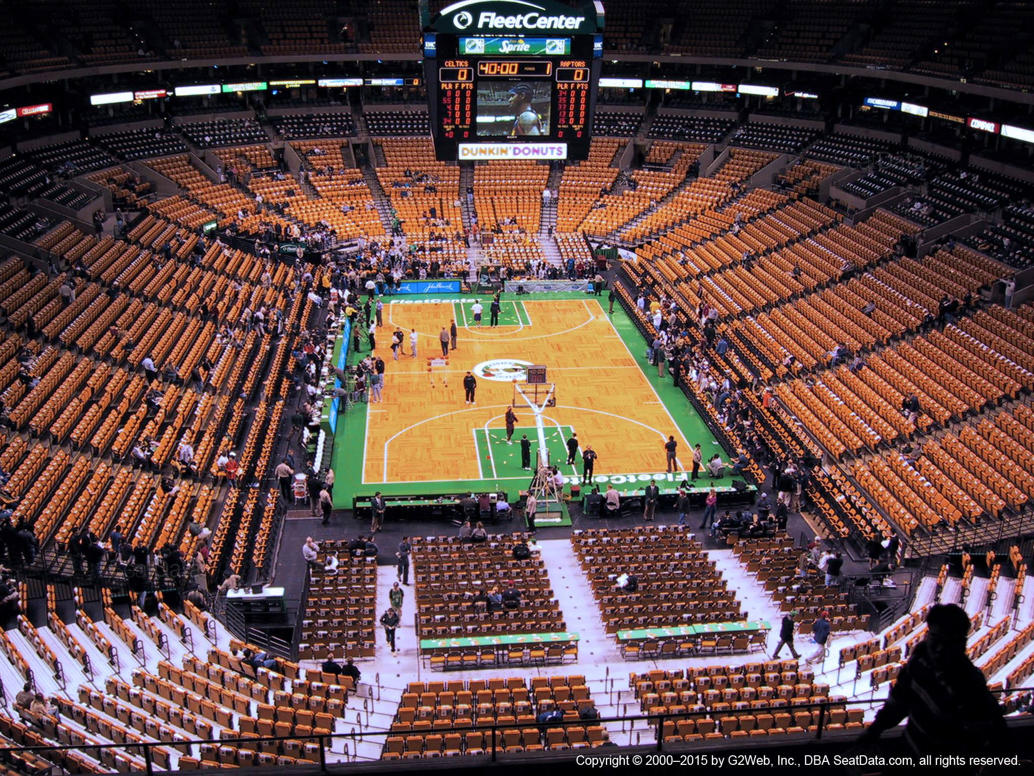 Td Garden Section 324 Boston Celtics