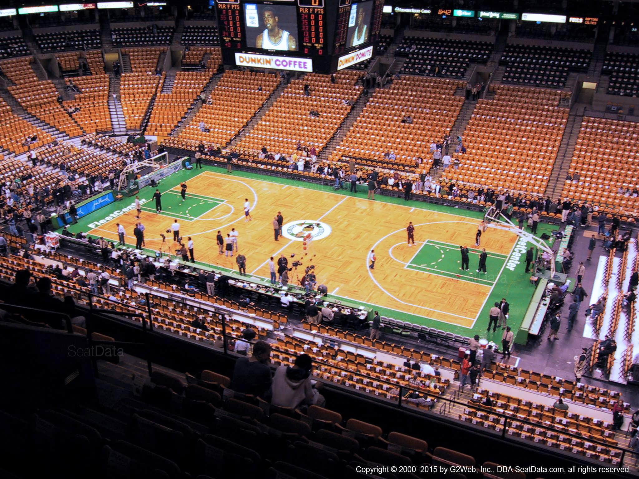 Td Garden Section 329 Boston Celtics