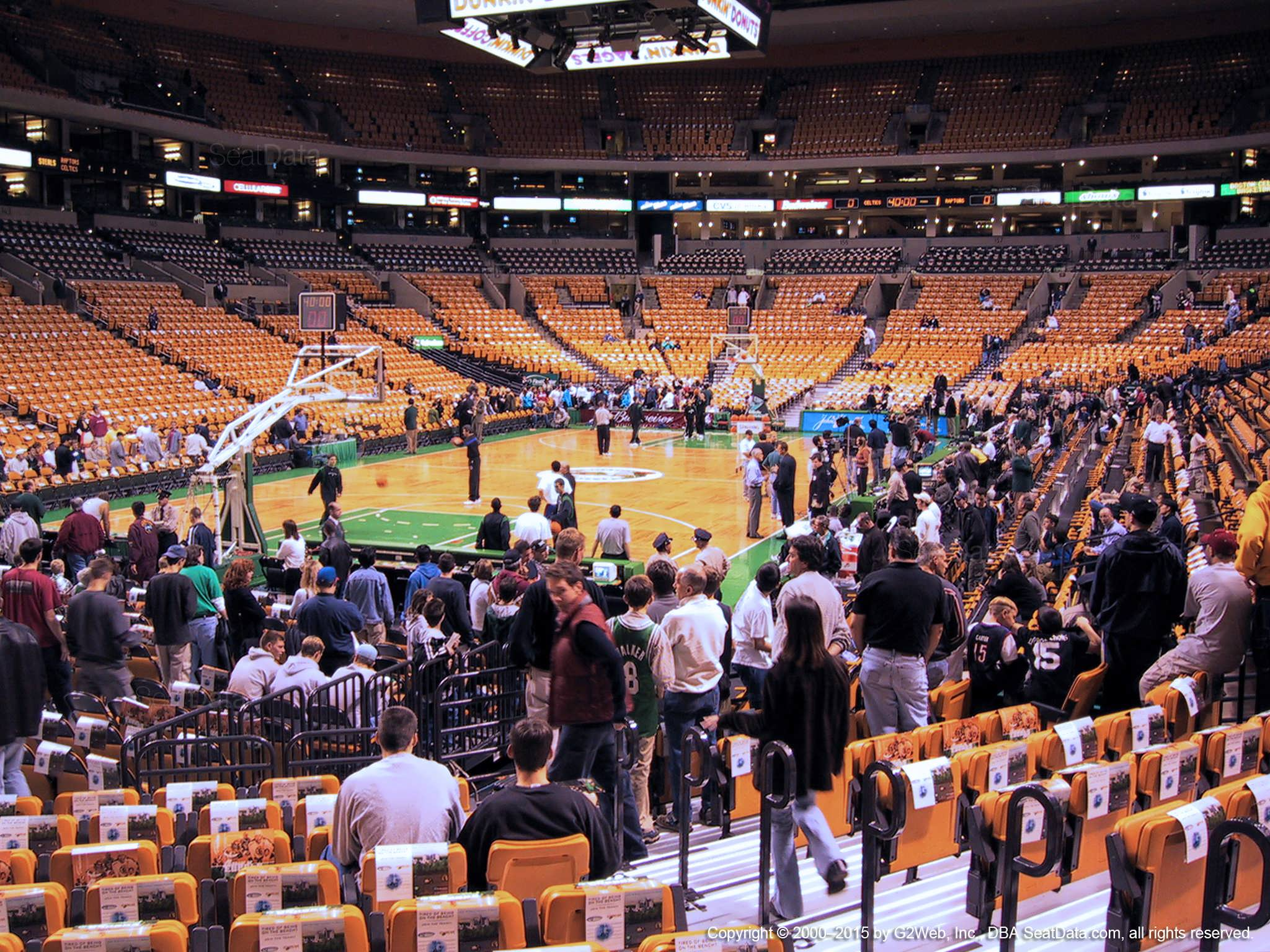 td garden loge 5 boston celtics