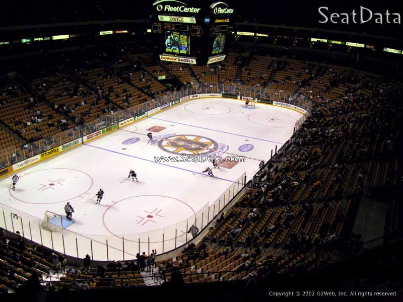 TD Garden Section 306 Seat View