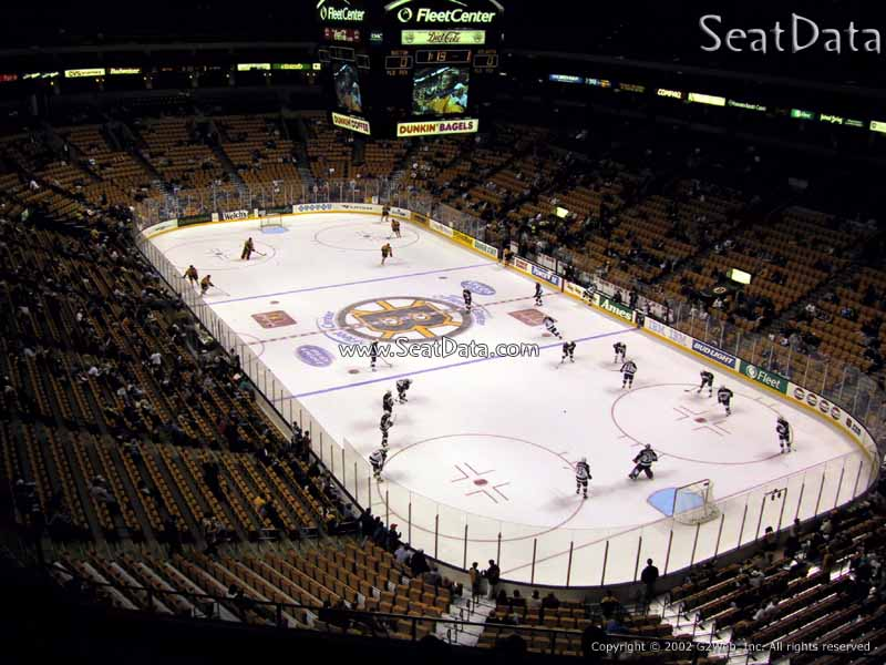 Boston Bruins Seat View for TD Garden Section 311