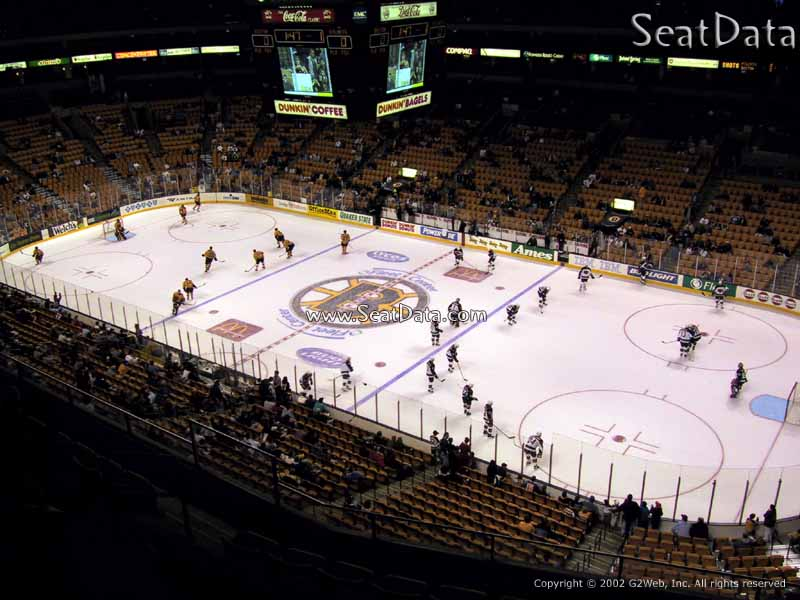 Td Garden Section 313 Boston Bruins Rateyourseats Com