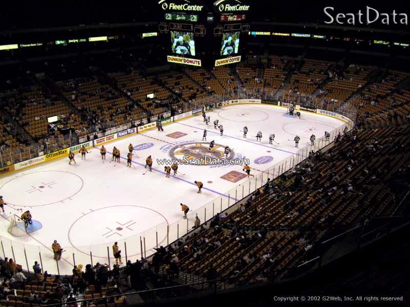 Td Garden Section 320 Boston Bruins Rateyourseats Com