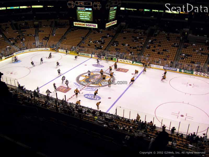 Td Garden Section 329 Boston Bruins Rateyourseats Com