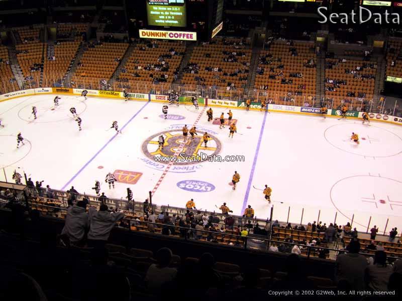 Td Garden Section 330 Boston Bruins Rateyourseats Com