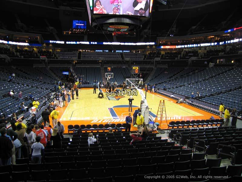 Spectrum Center Section 101 Charlotte Hornets