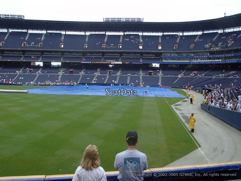 Turner Field Section 134 View
