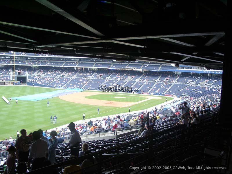 Turner Field Section 228 View