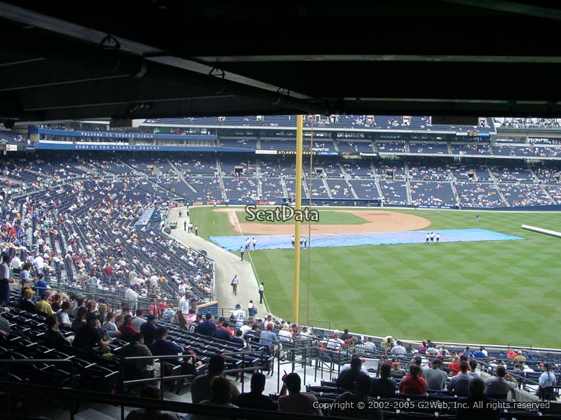 Seat view from Section 233