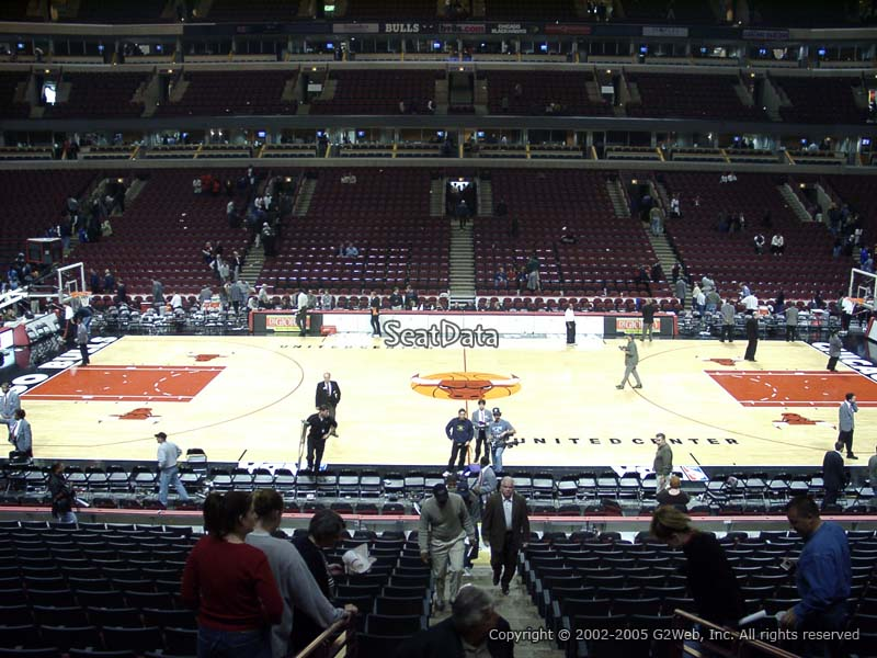 Chicago Bulls United Center Section 112 Rateyourseats Com
