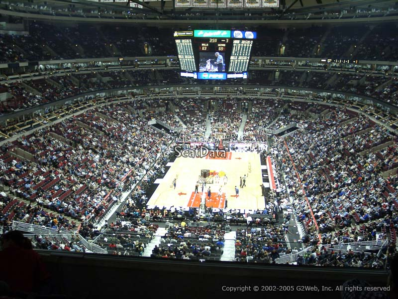 United Center Section 308 Seat View