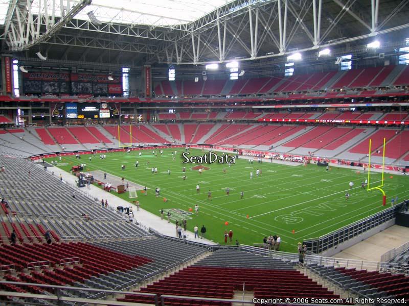 Section 203 at State Farm Stadium - Arizona Cardinals ...