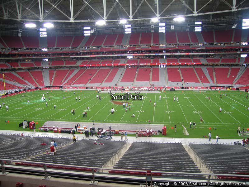 Section 210 at State Farm Stadium - Arizona Cardinals ...