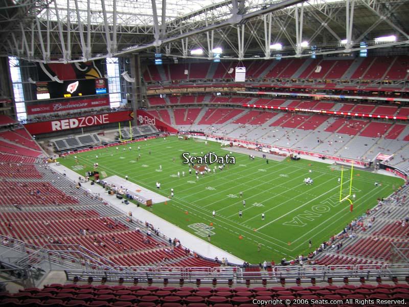 University Of Phoenix Stadium Section 435 Seat Views