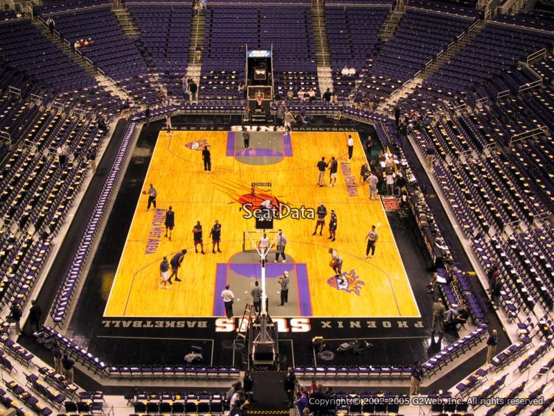 Talking Stick Resort Arena Section 211 Phoenix Suns