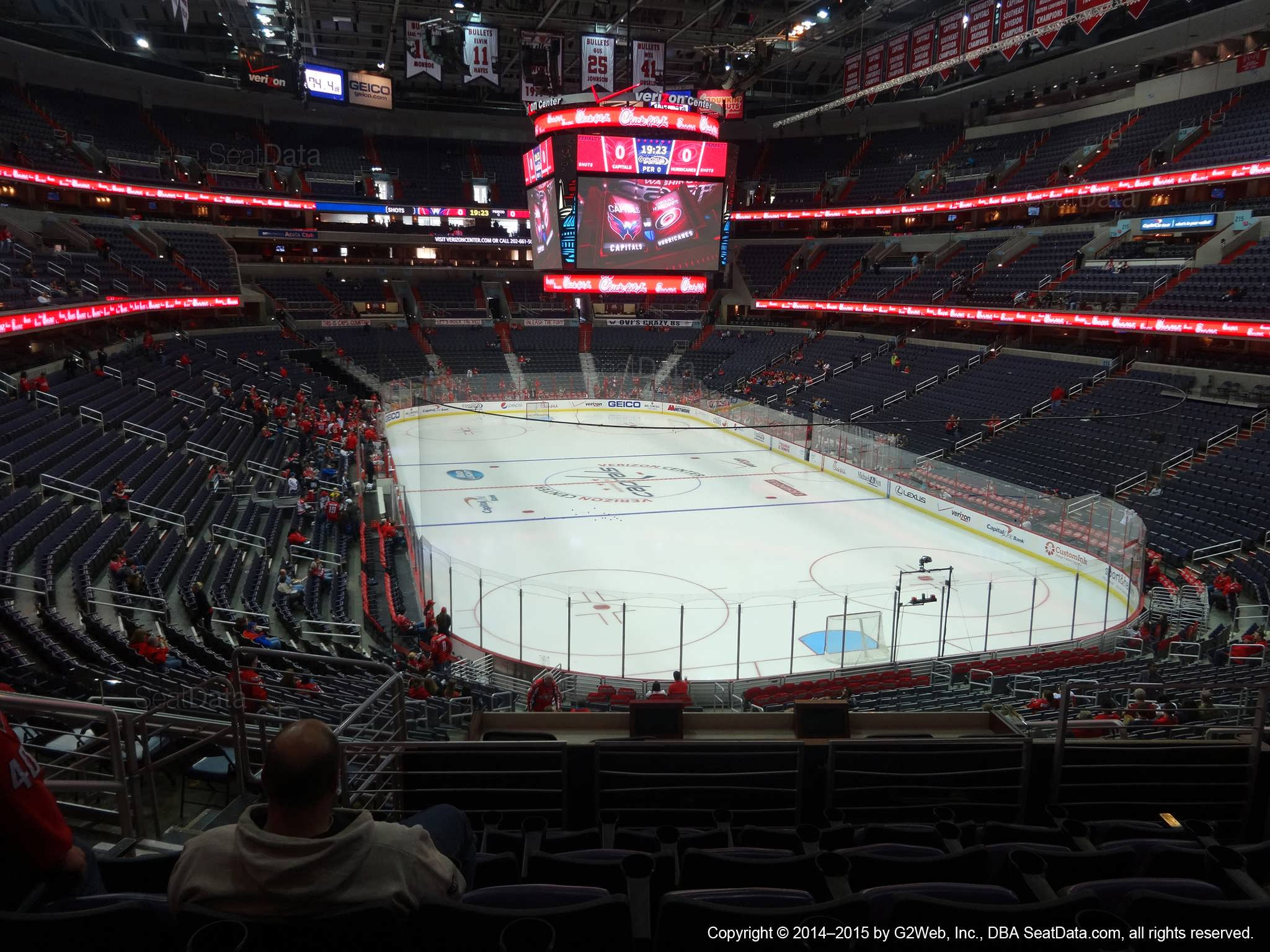 b941d3f8b3a Capital One Arena Section 206 - Washington Capitals - RateYourSeats.com