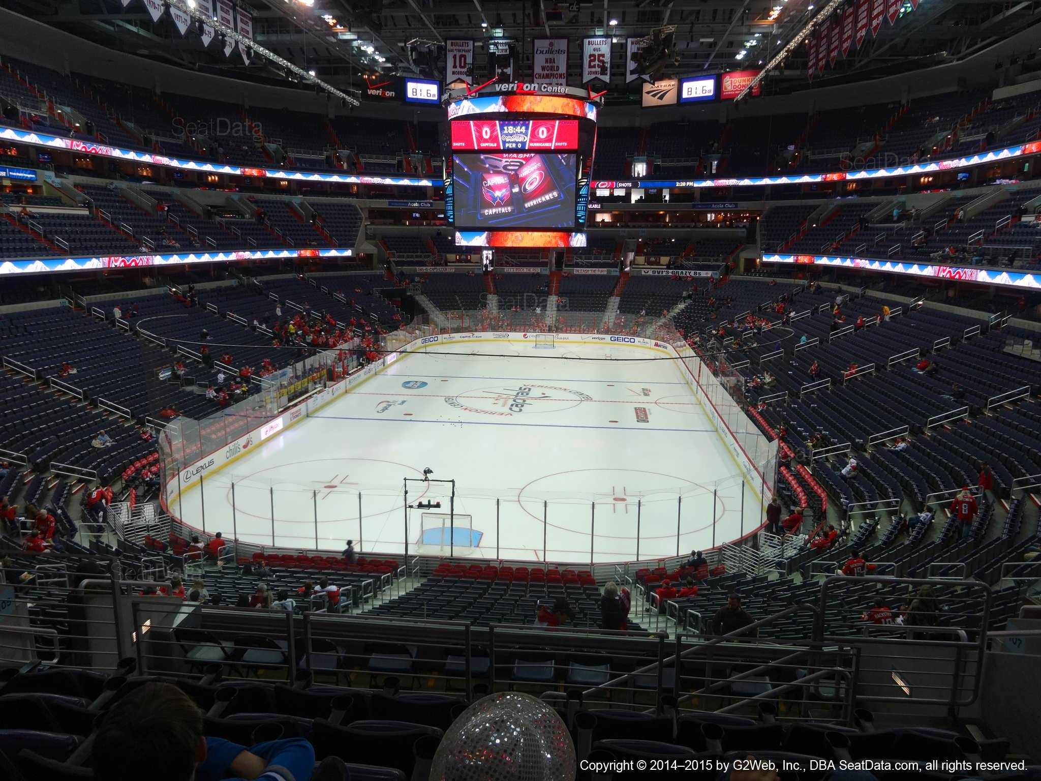 3e0903eef2a Capital One Arena Section 208 - Washington Capitals - RateYourSeats.com