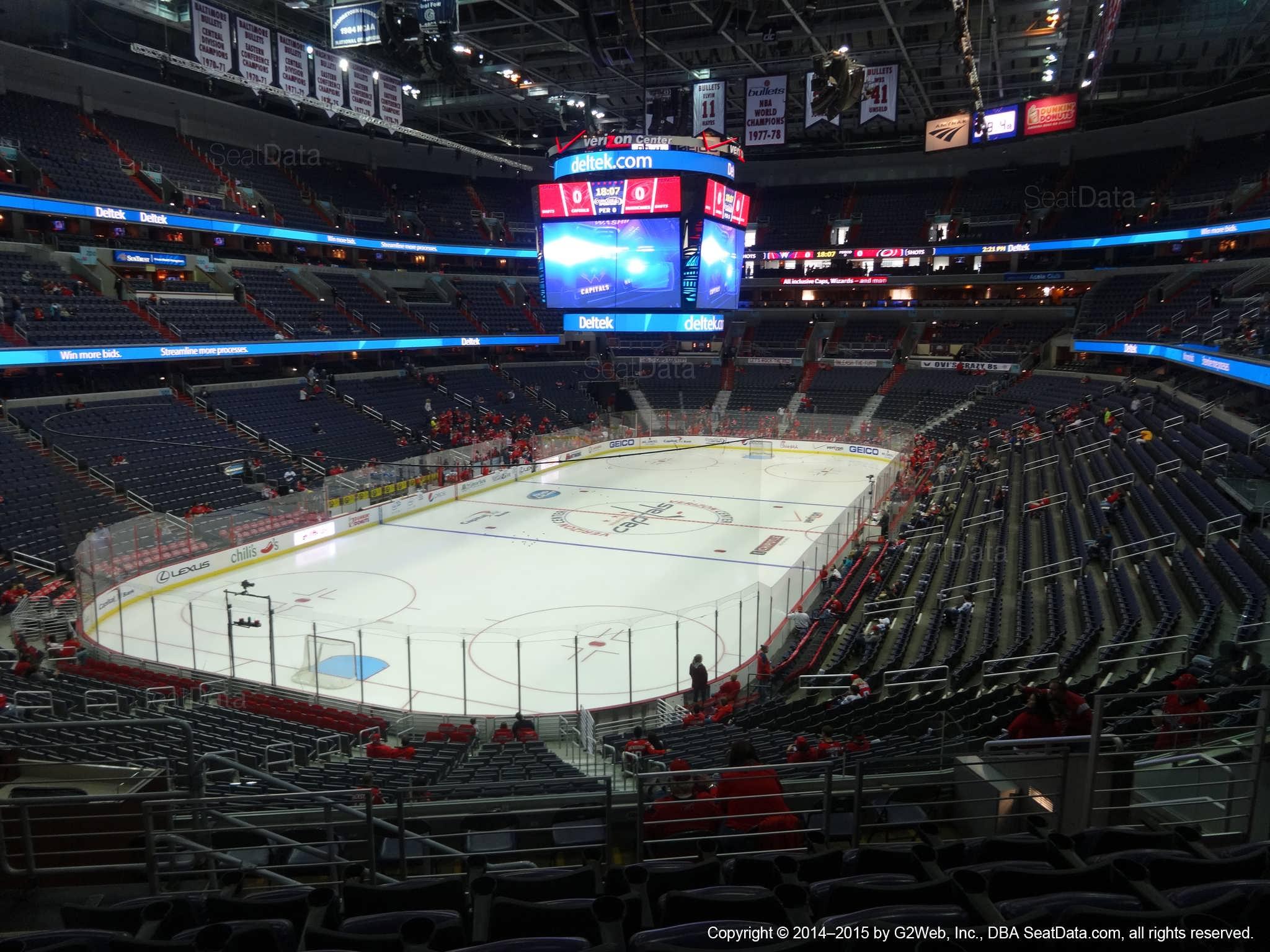 b2913acae5e Capital One Arena Section 209 - Washington Capitals - RateYourSeats.com