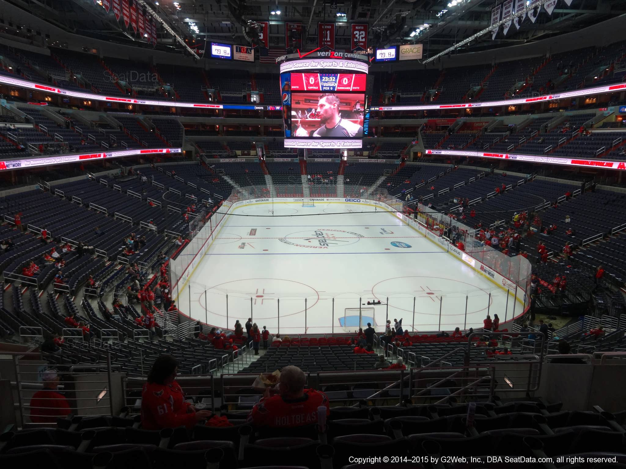 4d0e1d99324 Capital One Arena Section 222 - Washington Capitals - RateYourSeats.com