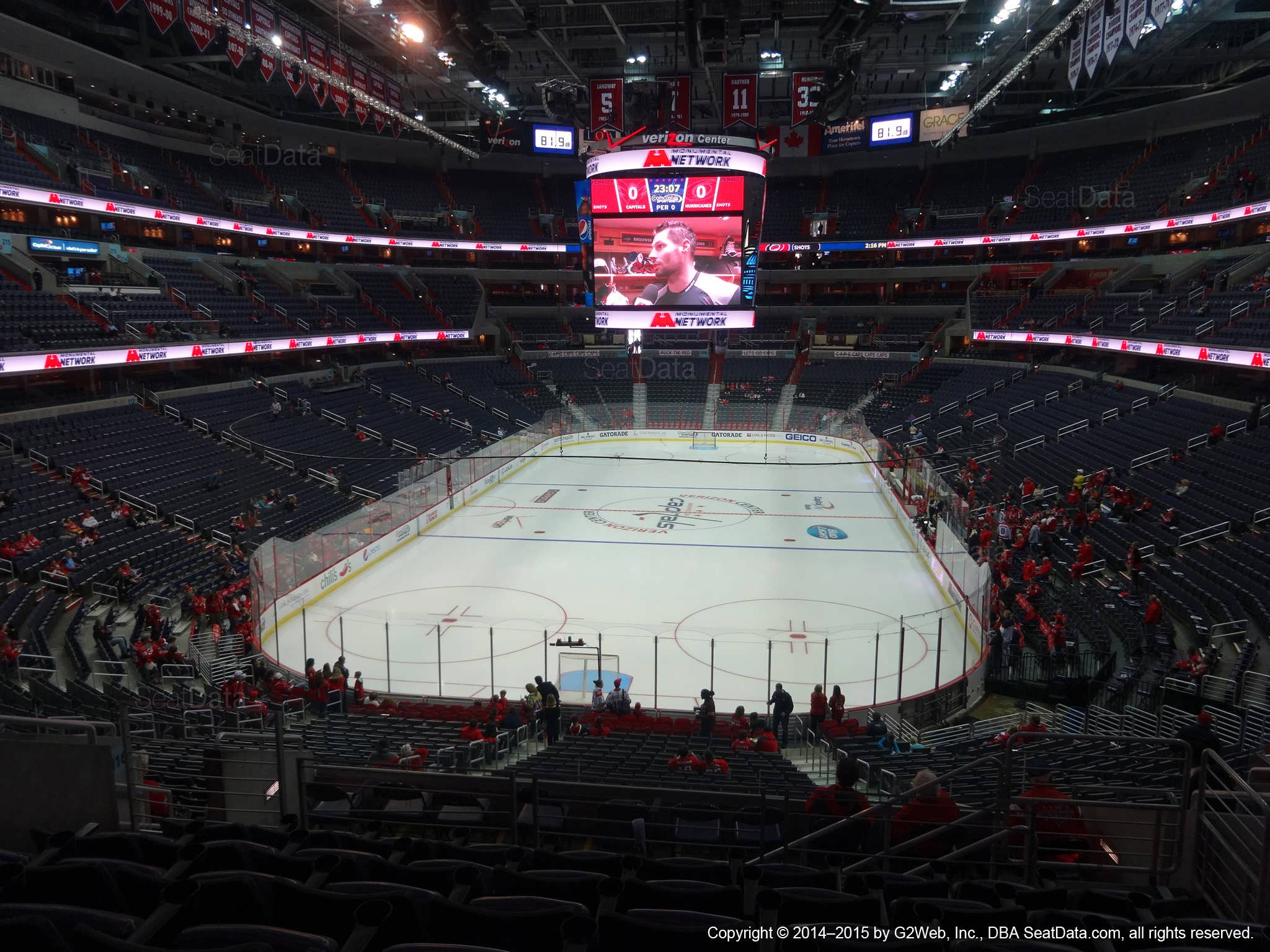 fdd8ff3ac13 Capital One Arena Section 223 - Washington Capitals - RateYourSeats.com