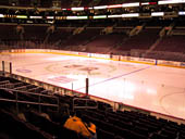 Philadelphia Flyers Seat View for Wells Fargo Center Section 103
