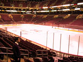 Philadelphia Flyers Seat View for Wells Fargo Center Section 104