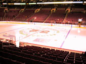 Philadelphia Flyers Seat View for Wells Fargo Center Section 114