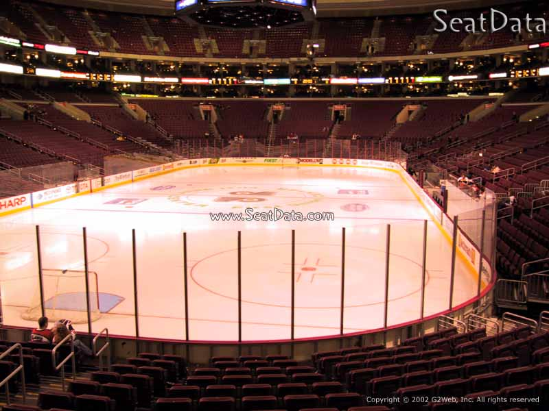 Wells Fargo Center Section 120 Seat View