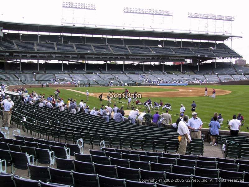 Wrigley Field Section 129 Seat Views Seatscore Rateyourseats