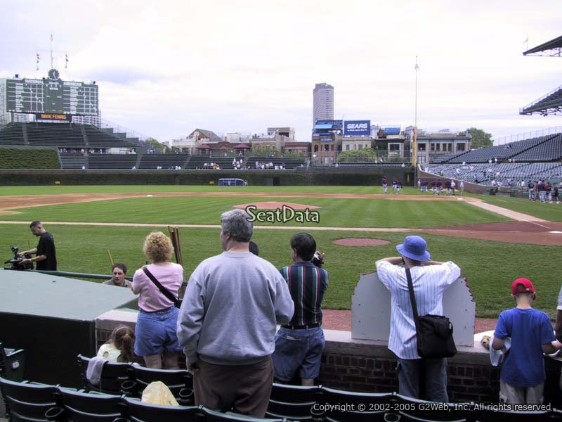 Wrigley Field Section 14 - Chicago Cubs - RateYourSeats.com
