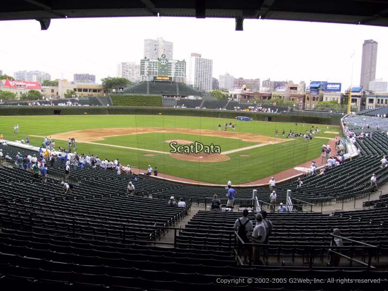 Wrigley Field Section 216 Chicago Cubs Rateyourseats Com