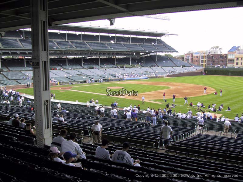 Wrigley Field Section 228 Seat Views/SeatScore - RateYourSeats